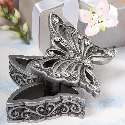Butterfly Design Curio Box Favor