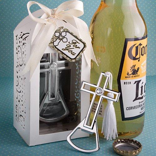 Brilliantly Packaged Cross Bottle Opener