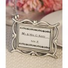 6x Heart Design Place Card / Photo Frames