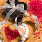 6x Heart Shaped Cookie Cutters