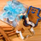 Teddy Bear Shaped Cookie Cutter - Blue