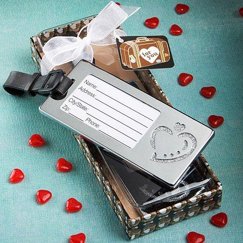 Heart Design Luggage Tag