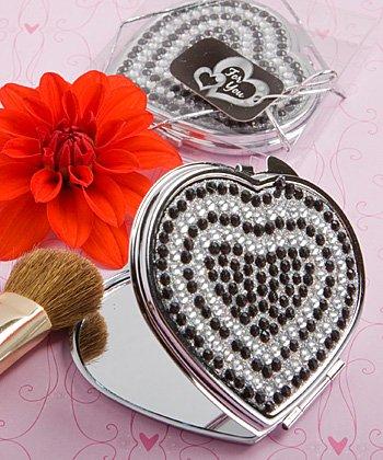 Heart Design Classy Compact Mirror Favors