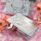 6x Elegant Reflections Collection Butterfly Design Mirror Compact Favors