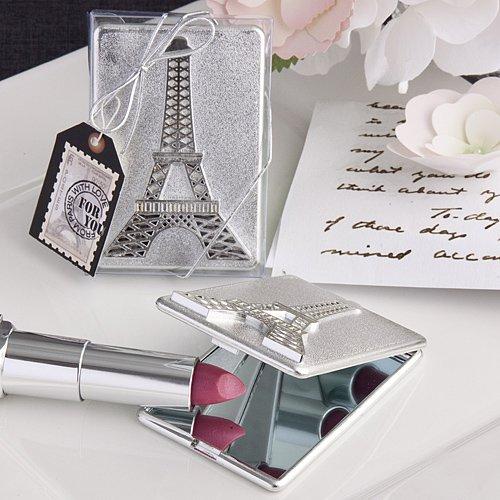 6x Eiffel Tower design mirror compact favors