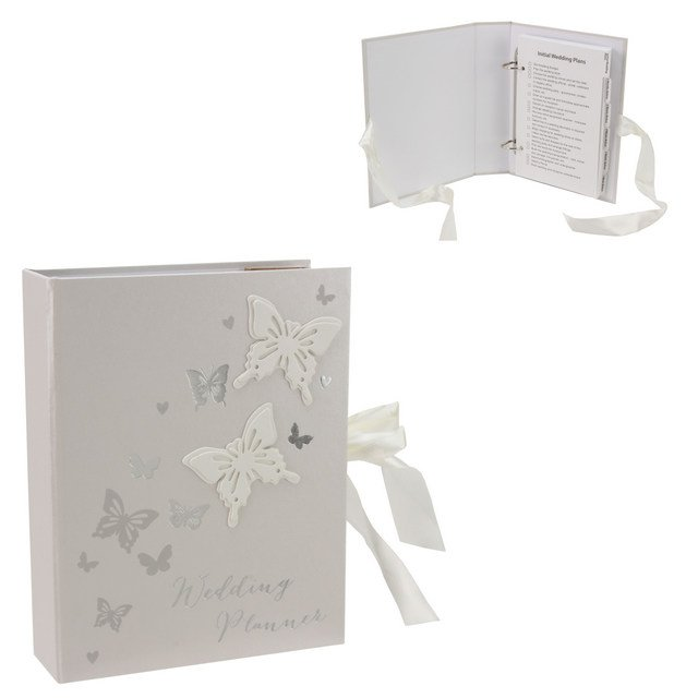 Juliana Wings of Love Butterfly Paperwrap Wedding Planner