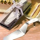 Stylish stainless steel cake server