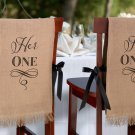 Her One & His Only Chair Covers