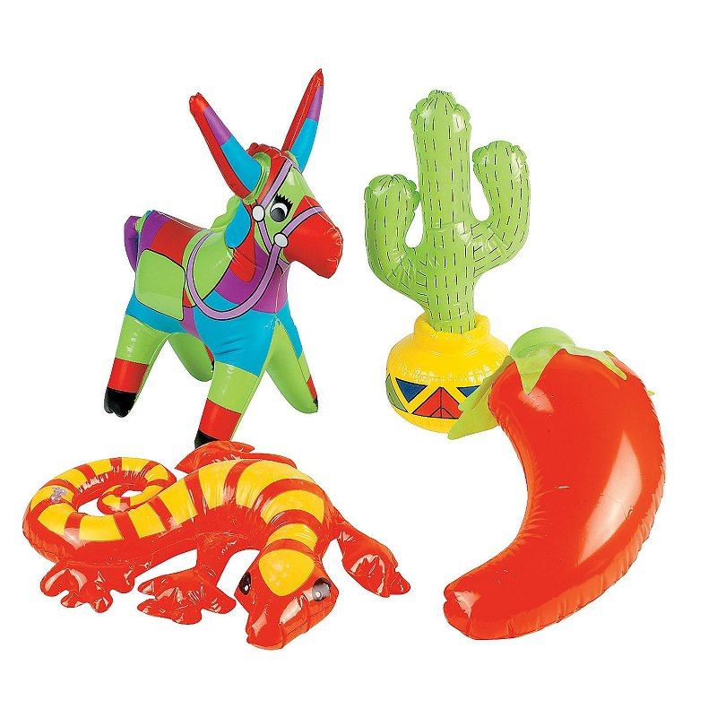 12 x Fiesta Inflatables