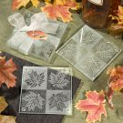 6x Fall Themed Coaster Favors