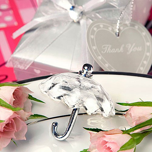 Choice Crystal Umbrella Figurines