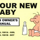 Your New Baby: An Owner's Manual by Martin Baxendale [Book]