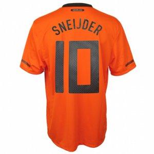 SNEIJDER #10 HOLLANDS Home Soccer Jersey - XL