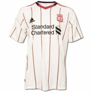 Liverpool Away Soccer Jersey - L