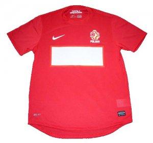 2012 POLAND Away Soccer Jersey - M