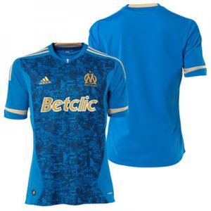 2011-2012 OLYMPIC MARSEILLE Away Soccer Jersey - M
