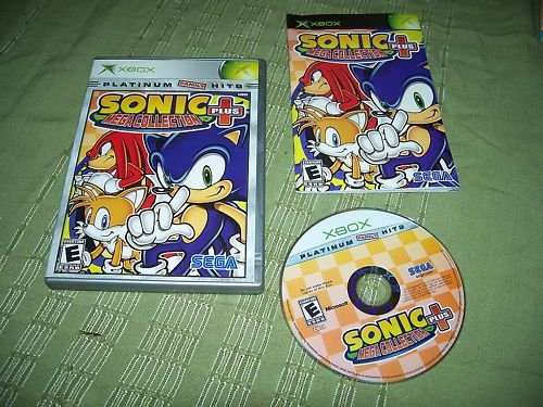 XBOX Sonic + Plus Mega Collection Platinum Hits