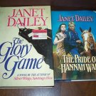 Lot of 2 Janet Dailey Hardcover Books