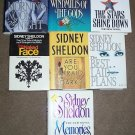 Lot of 8 Sidney Sheldon HC Books - Best Laid Plans.....