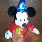 Fantasia Sorcerer Mickey Mouse Plush Stuffed Doll 20""