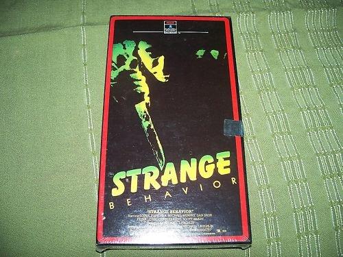 Strange Behavior VHS Brand NEW
