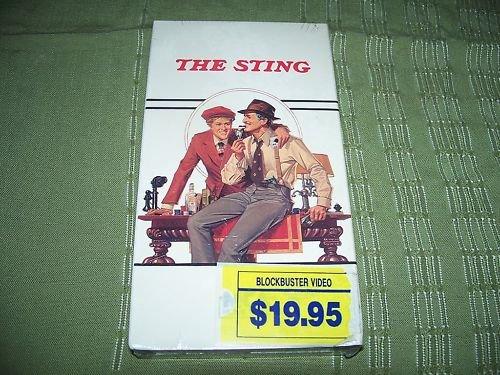 The Sting VHS Robert Redford Paul Newman