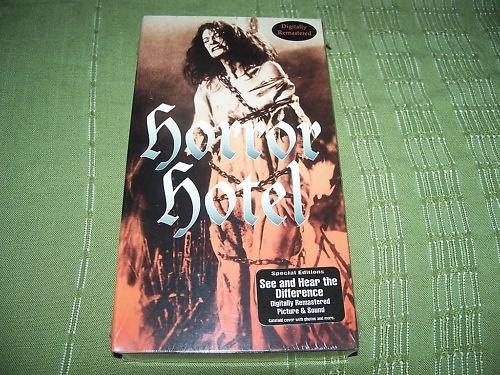 Horror Hotel VHS NEW Christopher Lee Bella St. John