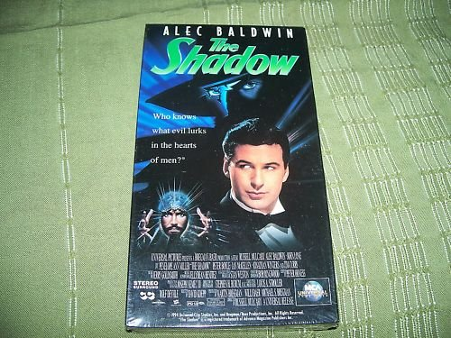 The Shadow VHS Brand NEW Alec Baldwin