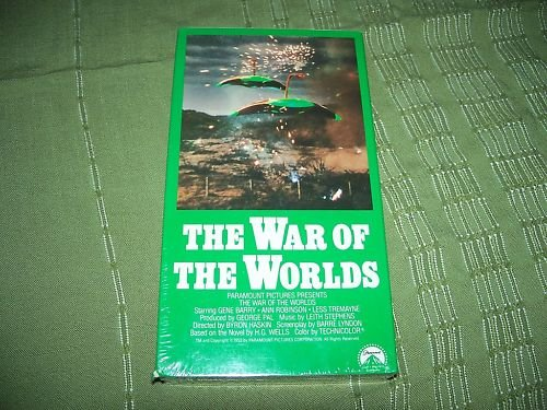 The War of the Worlds VHS Brand NEW