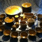 50 pc Regency Canonbury Pottery Dinnerware