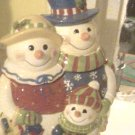 frosty and wife cookie jar