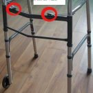 2SHC11-WLK002 - Walker Frame/  Multifunctional Foldable Walker with rollers and adjustable height