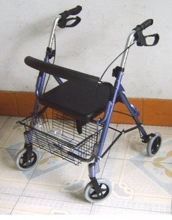 2SHC11-WLK003 Walker/ Walker Frame with shopping basket and seat
