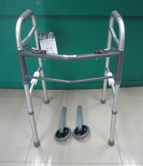 2SHC11-WLK005 Walker Frame with rollers/ Walker with seat and changeable wheels and feet