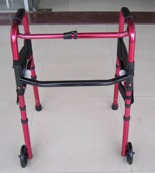 2SHC11-WLK006 Walker with rollers/ Walker Frame/ Foldable and easy to carry
