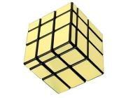Golden Block Rubik Type Magic Cube Puzzle Toy