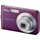 Nikon Coolpix S210 Digital Camera (Plum)