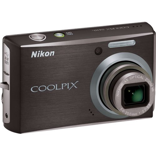 Nikon Coolpix S610 Digital Camera with Accessory Kit