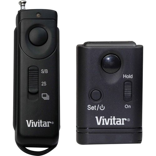 Vivitar VIV-RC-200-40D Wireless Remote Shutter Release for Canon EOS DSLRs