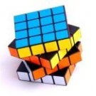 6-Colors Magic Puzzle Game Toy RUBIKS Cube Square (16 Panels)