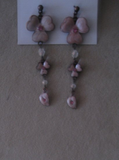 Stylish Pink Earrings