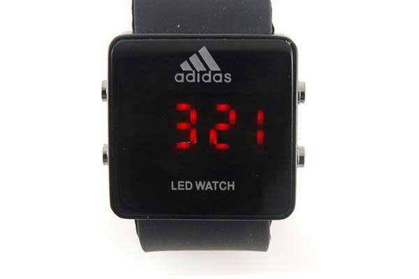 LED Fashion Digital Watch (Black)