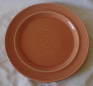 Metlox Colorstax 10 1/3 Dinner Plate Terra Cotta NEW