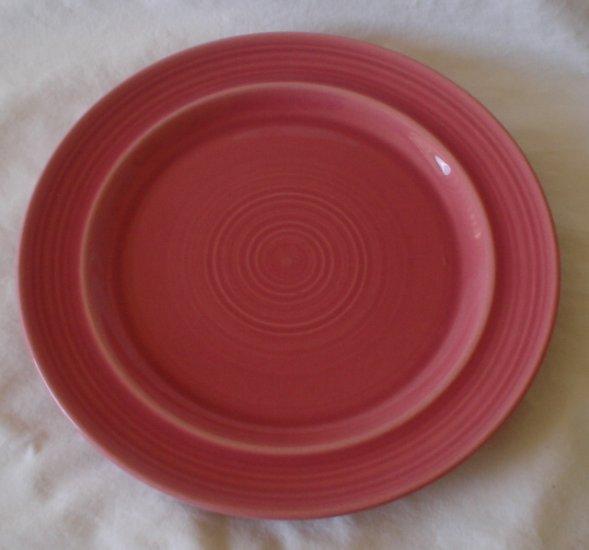 Metlox Colorstax 10 3/4 Dinner Plate ROSE NEW