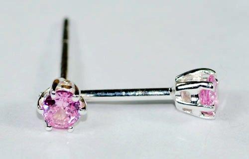 Pink Gemstone Earrings JE 0051
