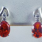 Red Gemstone Earring JE 0044