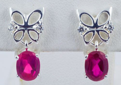 Butterfly Pattern Earrings JE 0048