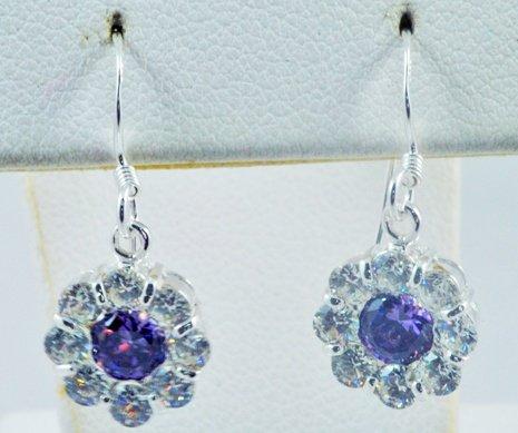 Flower Pattern Earrings JE 0010