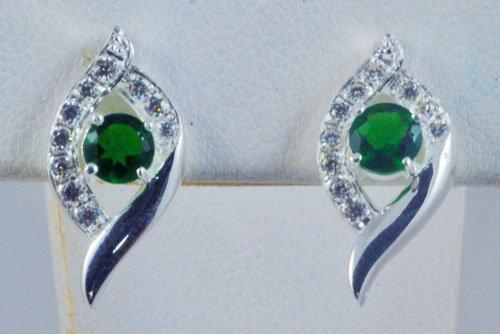 Sapphire Diamond Earrings JE 0003