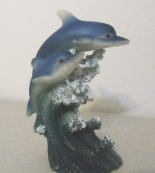 Dolphin Wedding Cake Topper